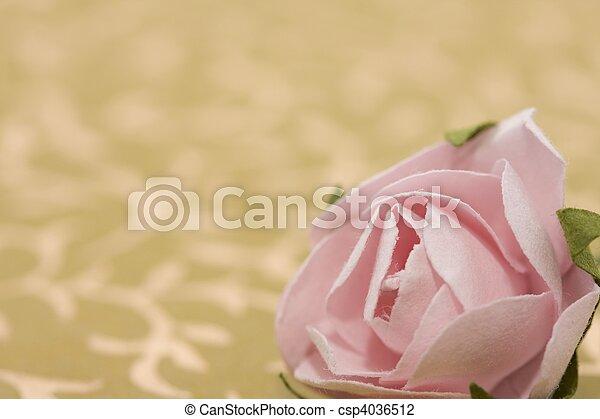 Paper rose - csp4036512