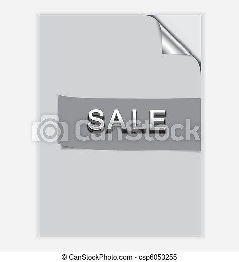 Paper Sale - csp6053255