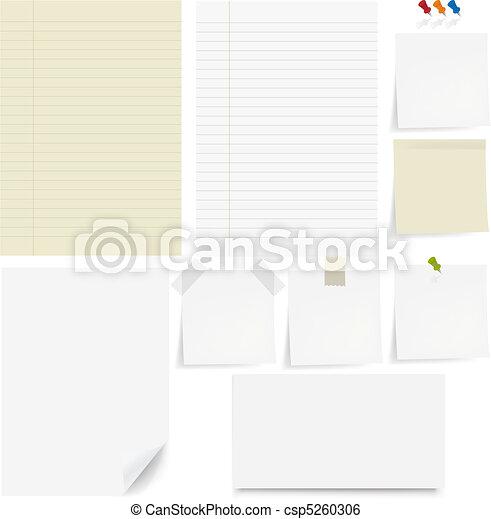 Paper Set - csp5260306