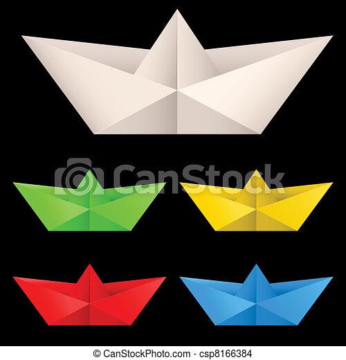 Paper ships - csp8166384