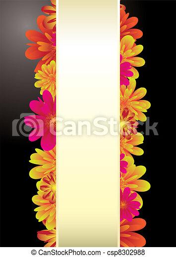 Paper tab floral - csp8302988