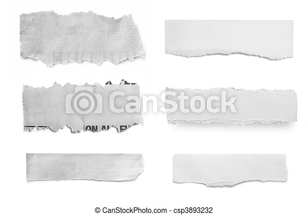 Paper Tears - csp3893232