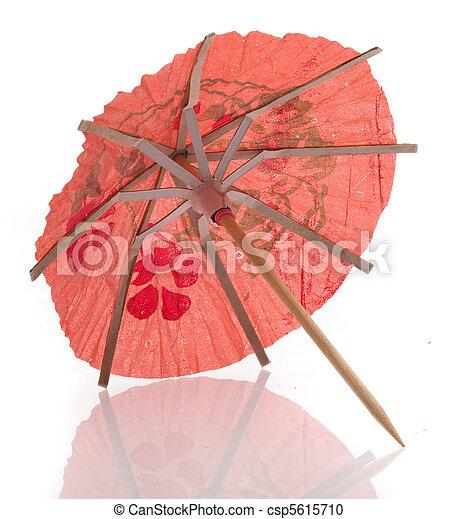 paper umbrella - csp5615710
