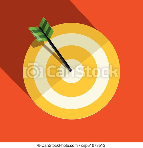 Paper Vector Target Symbol - csp51073513