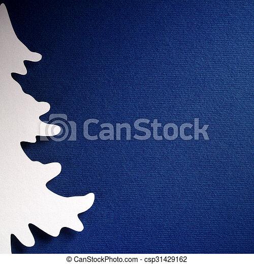papercraft, 主題, ペーパー, 背景, クリスマス, 手ざわり - csp31429162