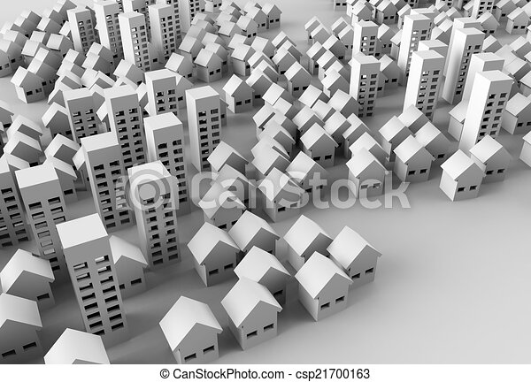 Papercraft Building Paper Model Of The City Represent Architecture