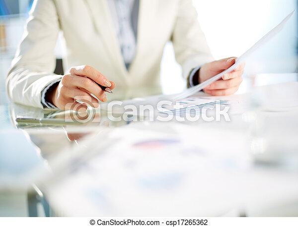 Paperwork - csp17265362