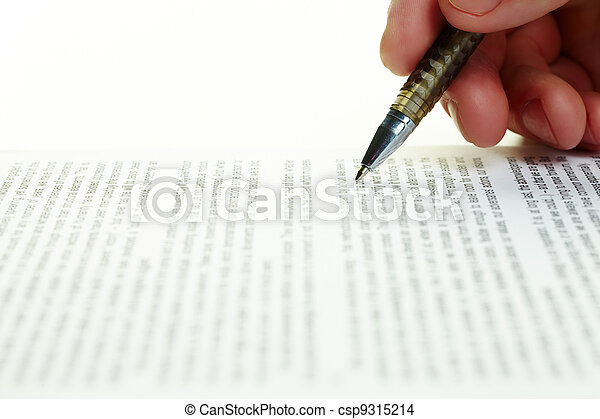 Paperwork - csp9315214