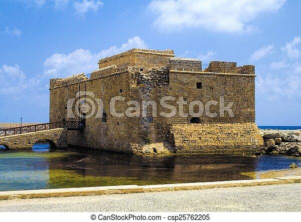 Paphos castle - csp25762205