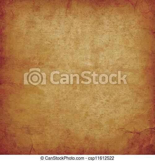 papier, altes , pergament - csp11612522