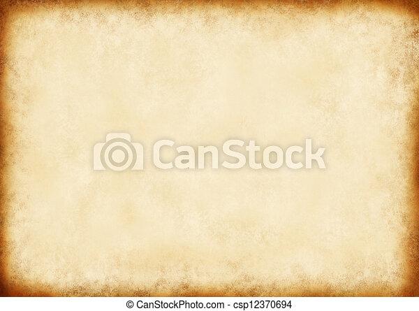 papier, altes  - csp12370694