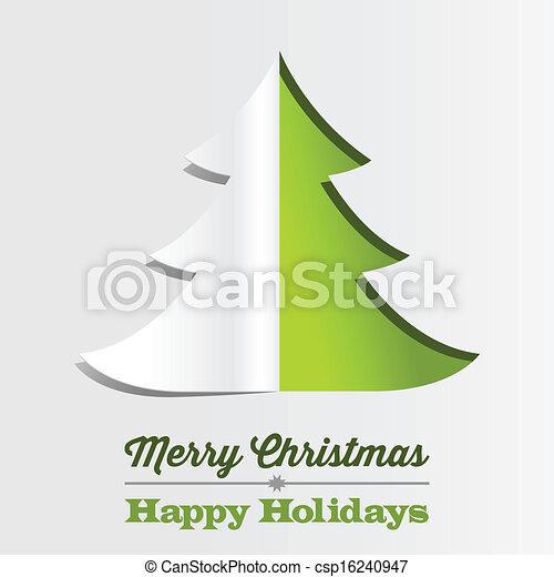 papier baum weihnachten hintergrund falten eps8 weihnachtspapier baum hintergrund file. Black Bedroom Furniture Sets. Home Design Ideas