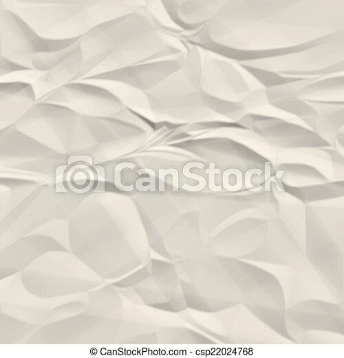 papier chiffonné, texture - csp22024768