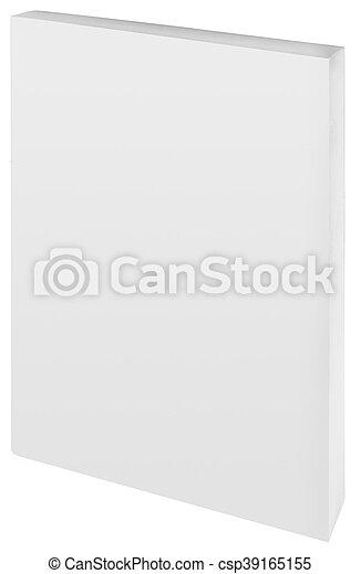papier, coupure, livre, dos - csp39165155