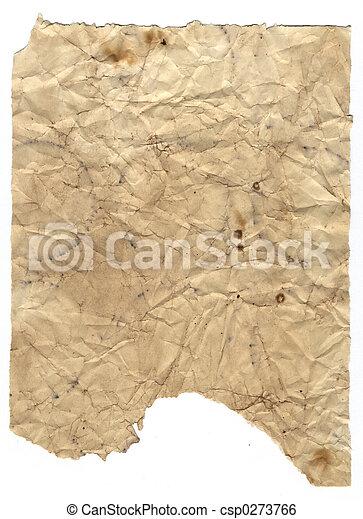 papier, grunge, 4 - csp0273766
