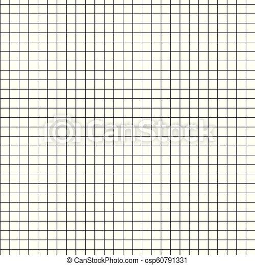Papier Millimétré Noir Texture Checkered