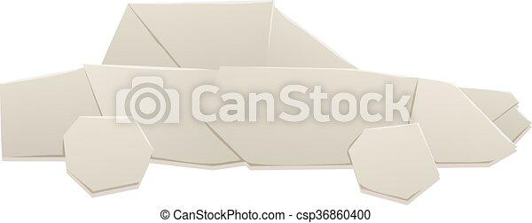 Papier Origami Vecteur Illustration Voiture