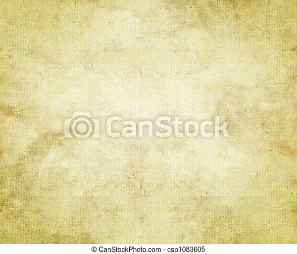 papier, oud, of, perkament - csp1083605