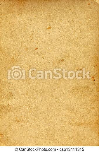 papier, oud - csp13411315