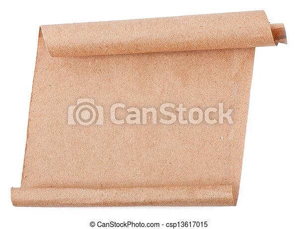 papier, oud - csp13617015