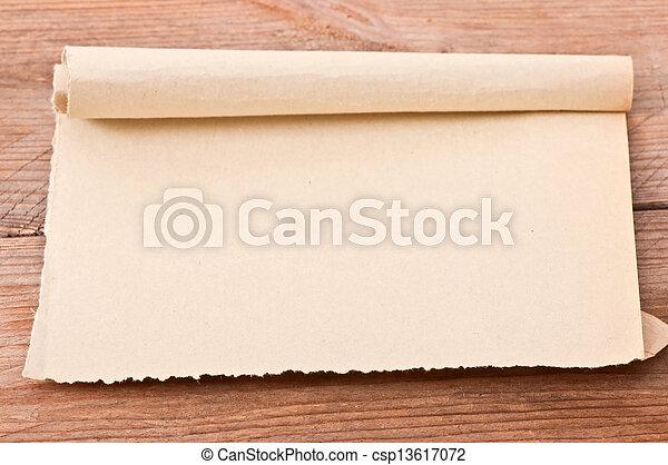 papier, oud - csp13617072