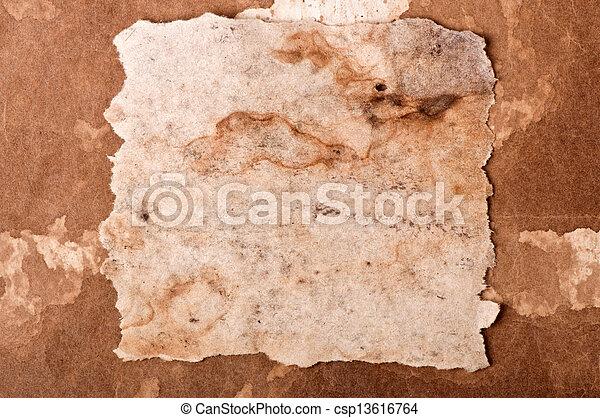 papier, oud - csp13616764