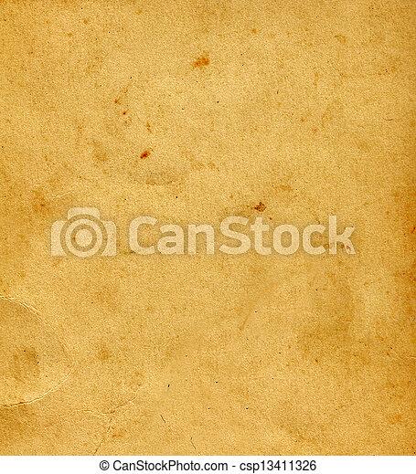 papier, oud - csp13411326
