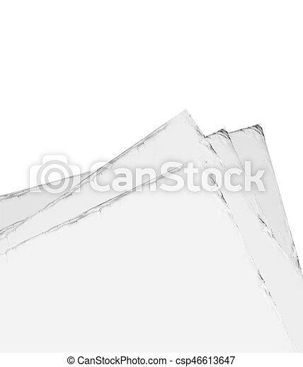 papier, oud - csp46613647