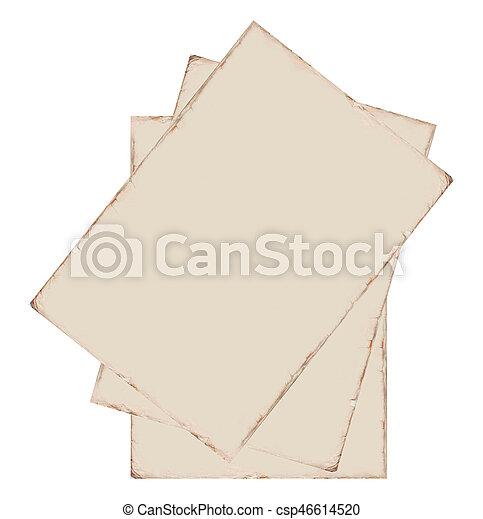 papier, oud - csp46614520