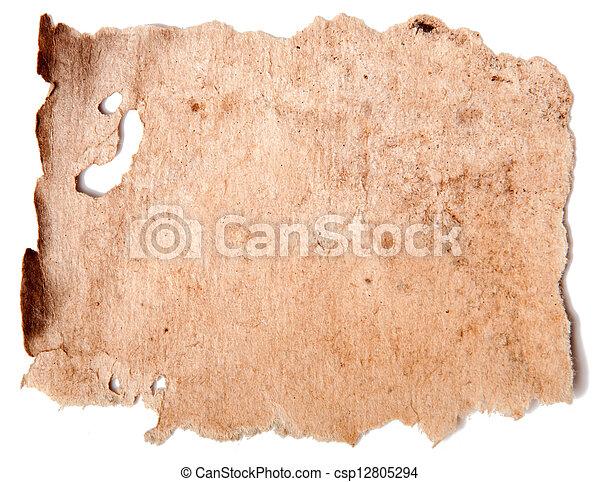 papier, oud - csp12805294