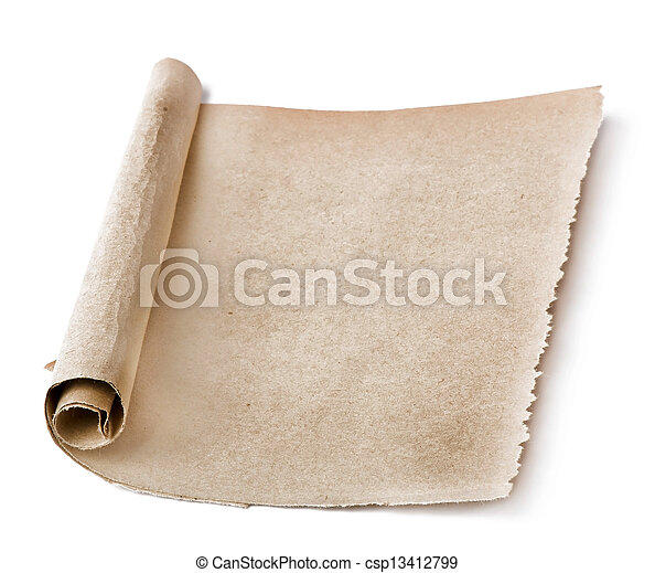 papier, oud - csp13412799