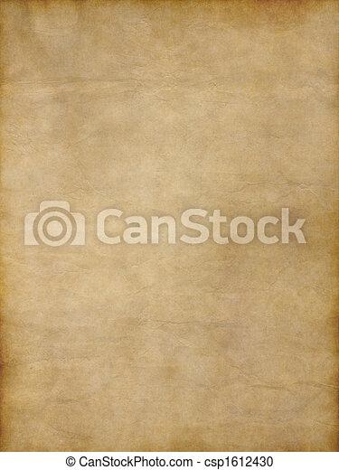 papier, oud - csp1612430