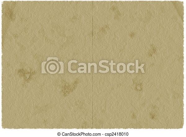 papier, oud - csp2418010