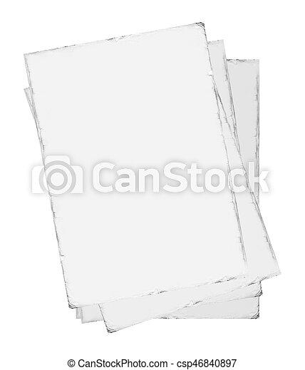 papier, oud - csp46840897