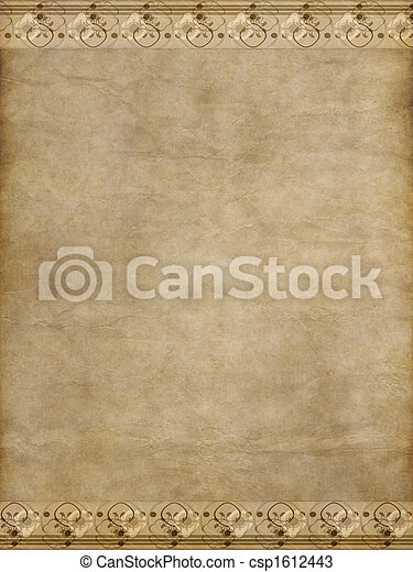 papier, oud - csp1612443