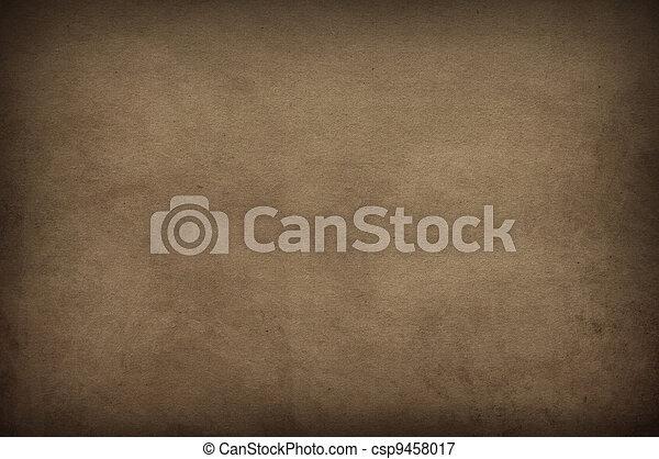 papier, oud, texture. - csp9458017