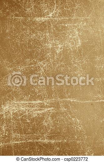 papier, oud, textured - csp0223772