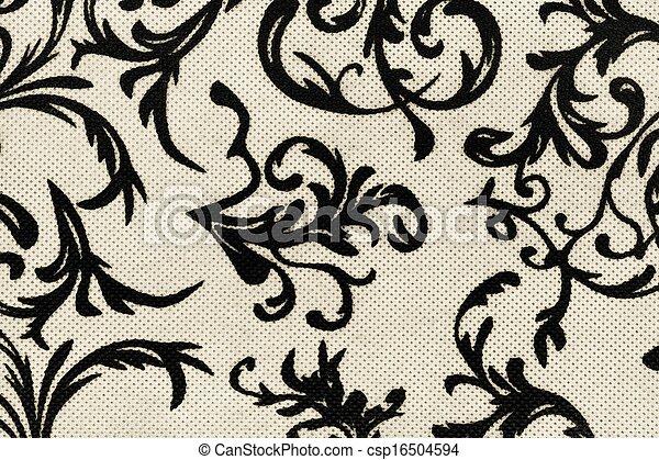 Papier Peint, Blanc, Noir, Retro, Texture