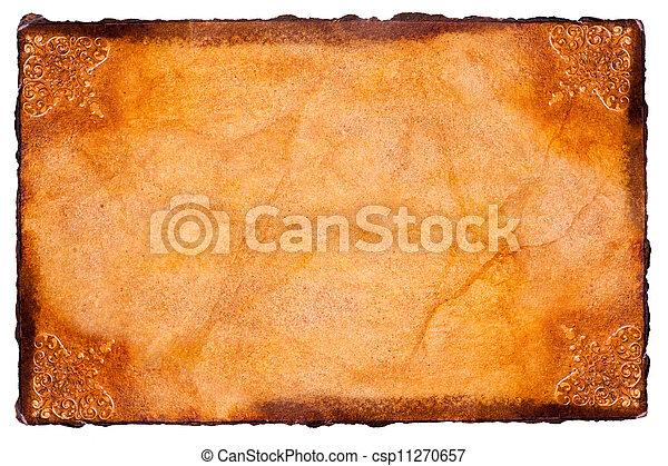 papier, pergament - csp11270657