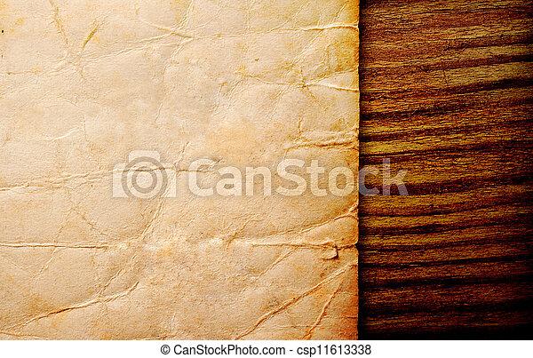 papier, pergament - csp11613338