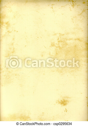 papier, perkament - csp0295634
