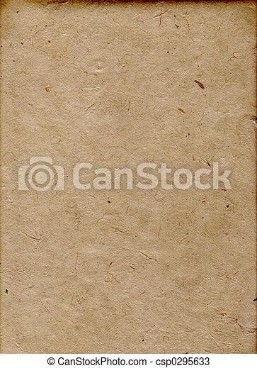 papier, perkament - csp0295633
