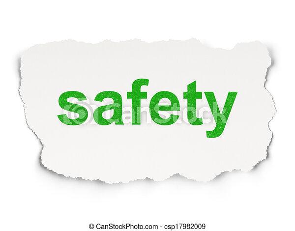 papier, schutzsicherheit, concept:, hintergrund - csp17982009