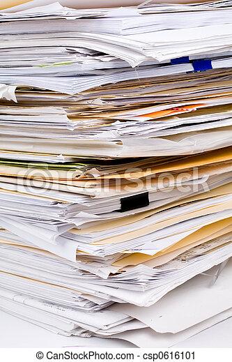 papier, stóg - csp0616101