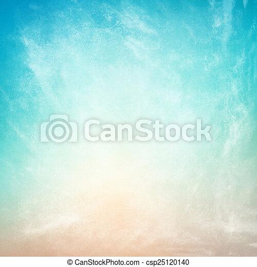 papier, textured, nuages, fond, vendange - csp25120140