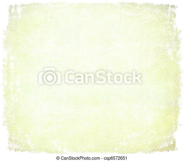 papier, vieilli, bord, fait main, isolé - csp6572651