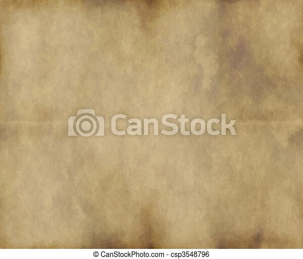 papier, vieux, ou, parchemin - csp3548796