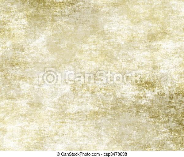 papier, vieux, ou, parchemin - csp3478638