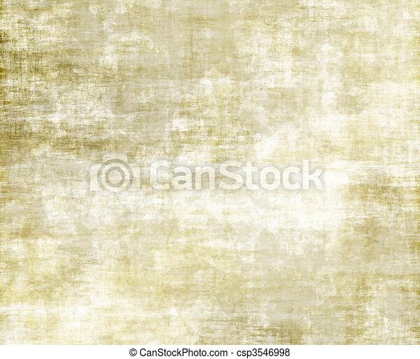 papier, vieux, ou, parchemin - csp3546998