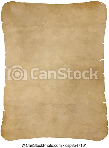 papier, vieux, parchemin - csp3547161